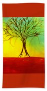 Natures Vivid Colors Beach Towel
