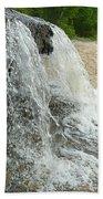 Natures Water Fountain Beach Towel