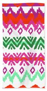 Navajo Mission Round Beach Towel