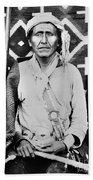 Navajo Shaman, C1880 Beach Towel