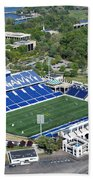 Navy Marine Corps Memorial Stadium Beach Towel