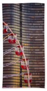 Navy Pier Wheel Chicago Beach Towel