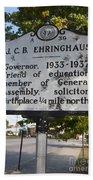Nc-a39 J.c.b. Ehringhaus Beach Towel