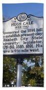 Nc-a80 Hugh Cale 1835-1910 Beach Towel