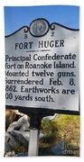 Nc-b2 Fort Huger Beach Towel