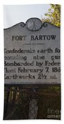 Nc-bbb2 Fort Bartow Beach Towel