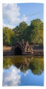 Neak Poan Temple Beach Towel