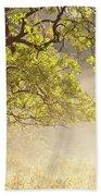 Nebulous Tree Beach Towel by Heiko Koehrer-Wagner