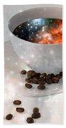 Nectar From Heaven - Coffee Art By Sharon Cummings Beach Sheet