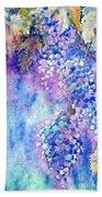 Nectar Of Nature Beach Towel by Zaira Dzhaubaeva