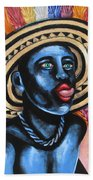 Negrito In Carnival 2 Beach Towel