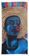 Negrito In Carnival Beach Towel