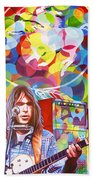 Neil Young-crazy Horse Beach Towel
