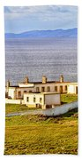 Neist Point Lighthouse Isle Of Skye Beach Towel