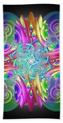 Neon Dreams Beach Towel