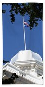 Nevada State Capitol Beach Towel