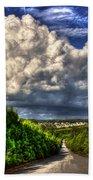 Atlanta And The Southside Neverland Beach Towel