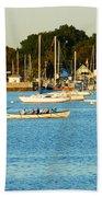 New Bedford Pier Beach Towel