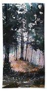 New England Landscape No.214 Beach Towel