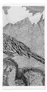 New Mexico Roadrunner Beach Towel