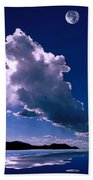 New Mexico Sky Beach Towel by Jerry McElroy
