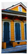New Orleans Creole Cottage Beach Towel