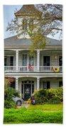 New Orleans Frat House Beach Towel