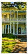 New Orleans Home - Paint Beach Towel