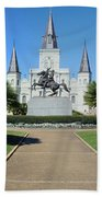 New Orleans - Jackson's Square Beach Towel