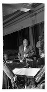 New Orleans Jazz Orchestra Beach Towel