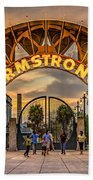 New Orleans Louis Armstrong Park  2 Beach Towel