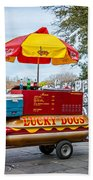 New Orleans - Lucky Dogs  Beach Towel by Steve Harrington