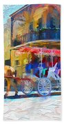New Orleans Series 53 Beach Towel