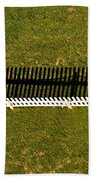New Perspective Of The Picket Fence Beach Towel