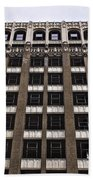 Vacant Downtown Building Los Angeles 3 Beach Towel