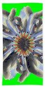 New Photographic Art Print For Sale Pop Art Swan Flower On Green Beach Towel