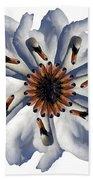 New Photographic Art Print For Sale Pop Art Swan Flower On White Beach Towel