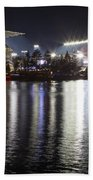 New Husky Stadium Reflection Beach Towel