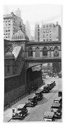 New York City Bridge Of Sighs Beach Towel