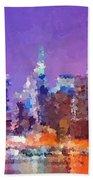 New York City - Skyline 0 Beach Towel