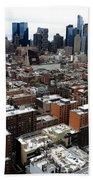 New York City Skyline 20 Beach Towel