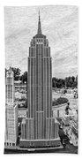 New York City Skyline - Lego Beach Towel