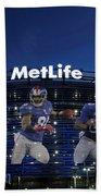 New York Giants Metlife Stadium Beach Towel