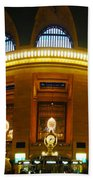 New York - Grand Central Station Beach Towel