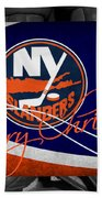 New York Islanders Christmas Beach Towel
