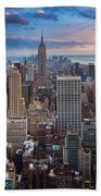 New York New York Beach Towel
