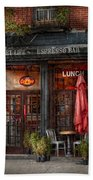 New York - Store - Greenwich Village - Sweet Life Cafe Beach Towel