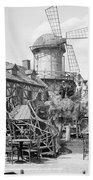 New York Windmill, C1905 Beach Towel