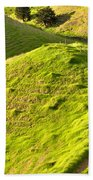 New Zealand Farmland Beach Towel
