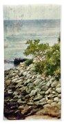 Newport Cliff Walk Beach Towel